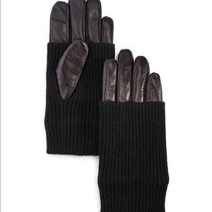 Echo tech leather gloves